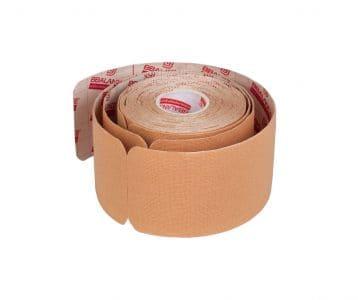 Кинезио тейп преднарезанный в рулоне Pre-cut BBTape™  5см x 5 м бежевый