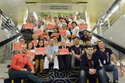15-16 октября в Москве состоялся первый в России и СНГ семинар по Балансирующему Тейпированию!