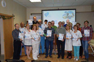 В Санкт-Петербурге и Вологде прошли обучающие семинары по медицинскому кинезиотейпированию