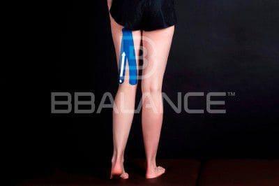 Инструкция по применению кинезио тейпа при травмах и растяжениях задней поверхности бедра